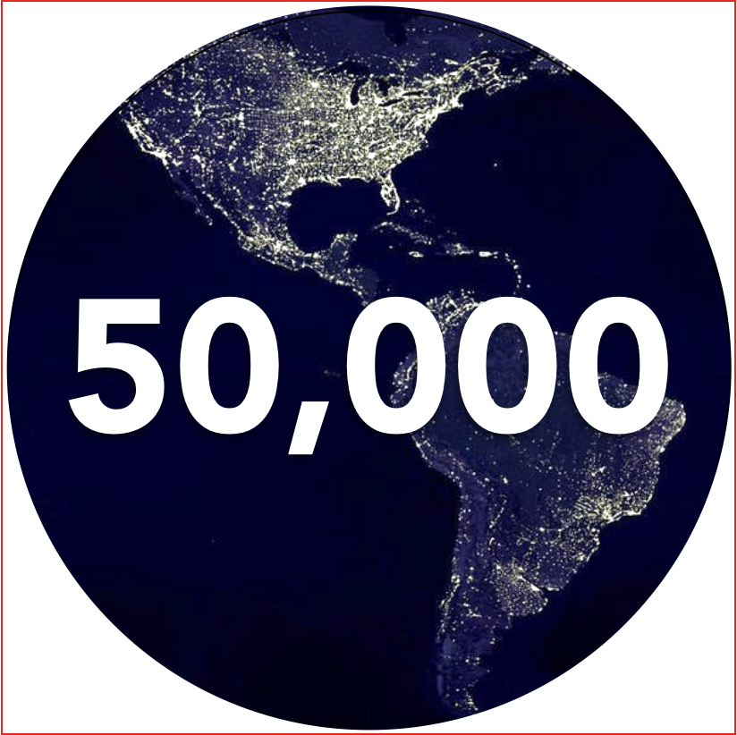 50,000 maps created to date at Relola